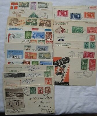 Good Collection 1930's-1959 New Zealand First Day Covers (22)
