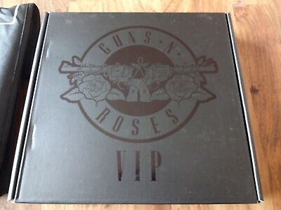 Guns N Roses 2017 Not In This Lifetime VIP Limited Edition Book - Collectable