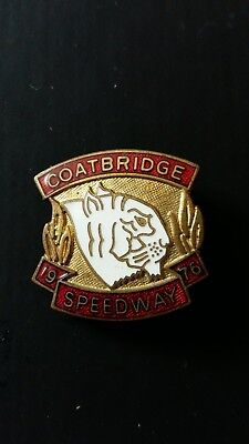 Coatbridge Tigers Speedway Badge