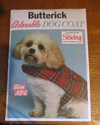 Dog Coat Sewing Pattern By Butterick.sizes Xs-L..new Uncut
