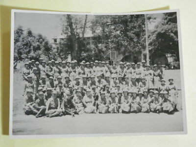 WW2 Japanese Army Assembly picture of the campaign nurse.
