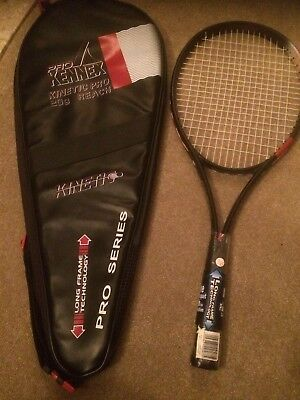 Pro Kennex Kinetic Pro 20g Reach Pro Series Racket + cover