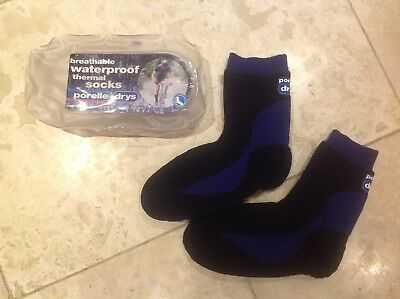 Porelle drys waterproof thermal breathable socks sizes uk 3, 4 and 5 available