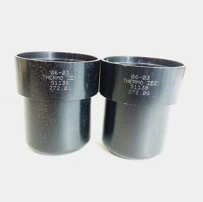 (Lot of 2) 06-03 Thermo IEC #51138 272.00 Buckets rotor centrifuge
