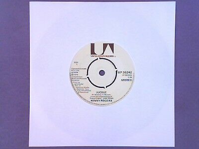 """Kenny Rogers - Lucille (7"""" single) UP 36242"""