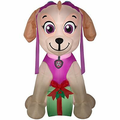 PAW Patrol 6.5' Inflatable Skye with Present