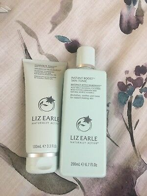 Liz Earle Cleanse And Polish And Skin Tonic