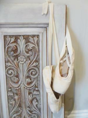 Vintage Ballerina Ballet Pointe Shoes By 'Freed of London'...Worn - For Display