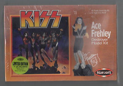 Ace Frehley 'Destroyer' Model Kit From Polar Lights 1998 Limited Edition