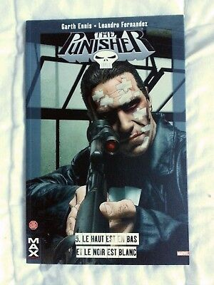PUNISHER MAX n°5  Le haut est ... - Edition PANINI Collection MAX - GARTH ENNIS