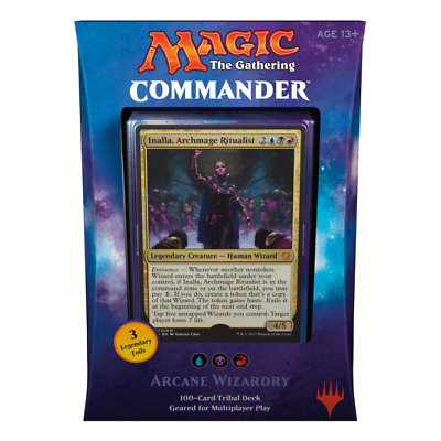 Magic the Gathering – Arcane Wizardry Commander 2017 Deck