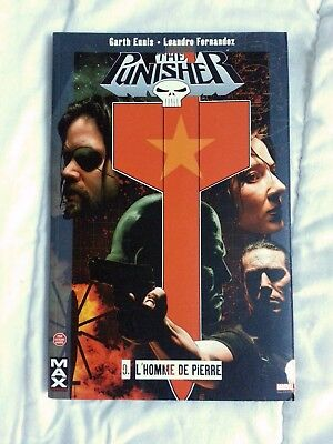 PUNISHER MAX n°9  L'homme de pierre  Edition PANINI Collection MAX - GARTH ENNIS
