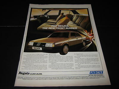 Fiat Regata Advert