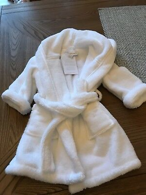 The White Company White Bath Robe Size 6-12 Months