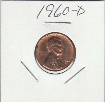 1960-D Lincoln Memorial Cent