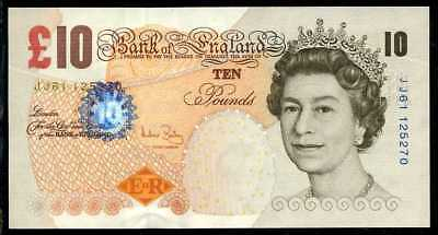 GREAT BRITAIN  10 POUNDS (2000) 2006  P 389c  Sign. A.Baily Uncirculated