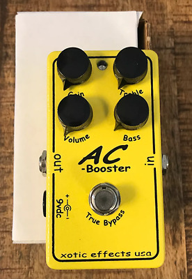 Xotic AC Booster - Brand new overdrive pedal