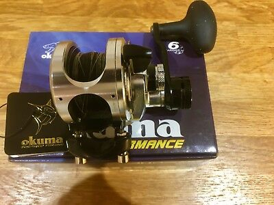Okuma Andros 5N11A 2 Speed Fishing Reel