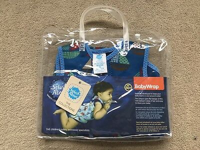 Splash About Baby Wrap Swimming Wetsuit - 6-18 Months - Brand New with Tags