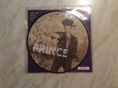 PRINCE - Controversy ORIG UK NUMBERED 7' PIC DISC. 1993