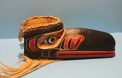 "Northwest Coast ""Thunderbird Mask"" 15 inches long"