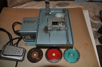 """Raytech  Modle A1 S4 4"""" Trim Saw W/ Variable Speed Foot Control"""