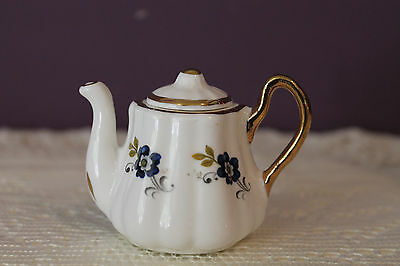"Sandford 2"" Mini Tea Pot Fine Bone China - England"