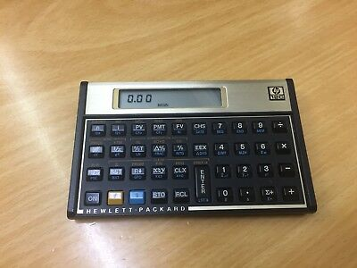 Hewlett Packard HP-12C RPN Financial Calculator