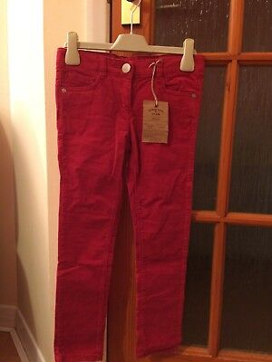 BNWT AGE 7 Next red Cord Trousers