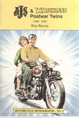 AJS & MATCHLESS POSTWAR TWINS 1948-1969 by ROY BACON.