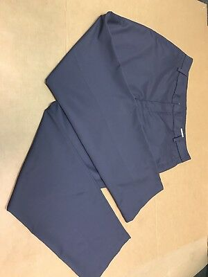 *PUMA* GRAY CHARCOAL STORM CELL FLAT FRONT POLYESTER GOLF PANTS SZ 34 x 32