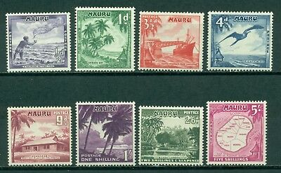 Nauru Scott #39//47 Most MNH Maps Flora Fauna Ships Assortment as Imaged CV$16+