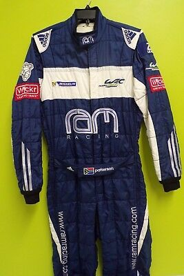 Le MANS SERIES RAM RACING TEAM ISSUE RACESUIT MARK PATTERSON MENS