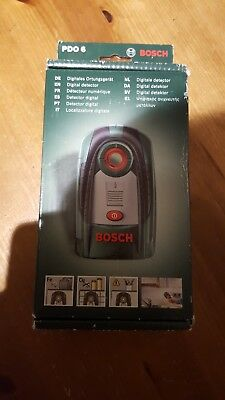 Bosch PDO 6. Digital metal and wire detector.