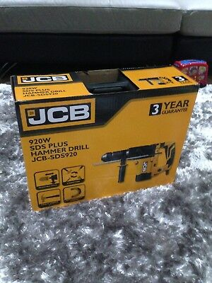 Jcb 920W Sds Plus Hammer Drill Jcb-Sds920 - Brand New Sealed Box