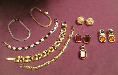 9 Pc. Vintage Jewelry Lot Signed Joan Rivers