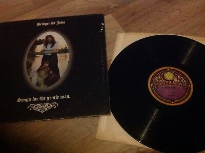 Bridget St. John - Songs for the Gentle Man DAN 8007  UK LP 1st Press 1971