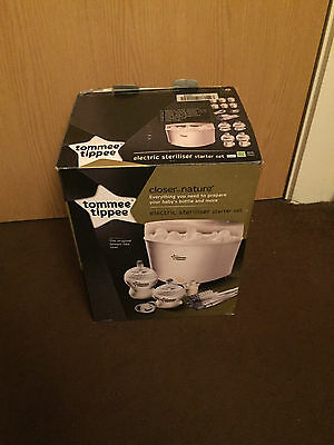 Tommee Tippee closer to nature electric steriliser kit ex-display