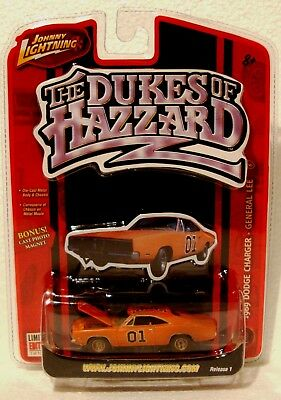 GENERAL LEE (Dirty Model Version) DUKES OF HAZZARD By Johnny Lightning in 2006