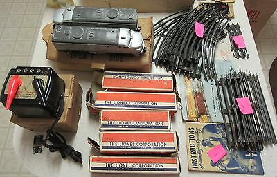 Antique Lionel Trains and Large lot of tracks, accessories and more