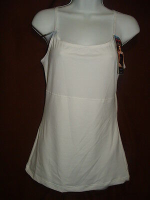 New Maidenform Flexees 3266 Wh Fat Free Dressing Firm Control Camisole/tank M