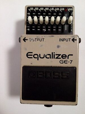 BOSS GE-7 Equalizer Guitar Effect Pedal FREE SHIPPING!!