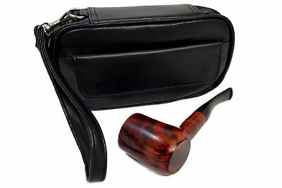 Two Pipe Combo Bag with Tobacco Pouch