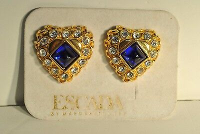 Vintage 80's Escada Margaret Ley Earrings