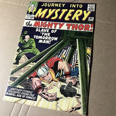 Thor Journey Into Mystery #102 VG/FN 1st Hela & Lady Sif