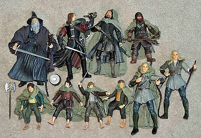 Lord Of The Rings Action Figure Collection