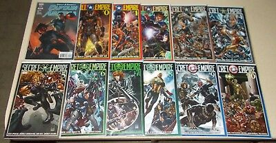 Secret Empire 0 1-10 NM Complete Set +Dell Otto variant Captain America 15