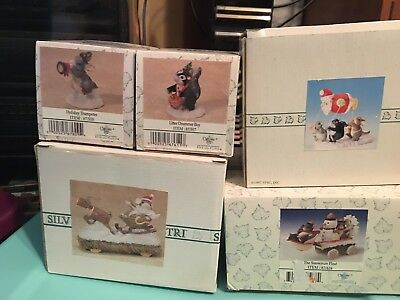 Charming Tails Lot Of 6 Holiday / Spring Mice 🐭 DEAN GRIFF #7