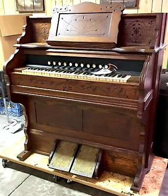 * LOOK * Lowest price you'll see; LAST Listing; Antique Pump Organ - circa 1860