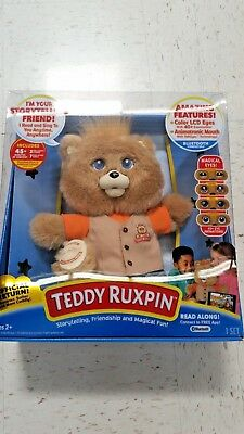 2017 Teddy Ruxpin Official Return of the Storytime and Magical Bear Interactive